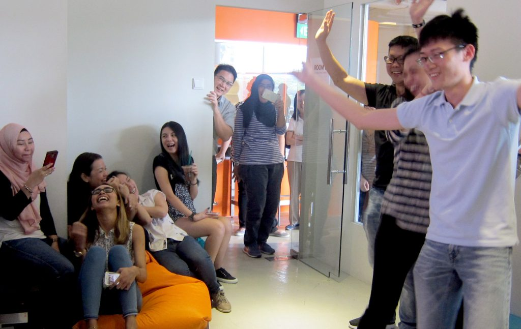 Video Games Team Building