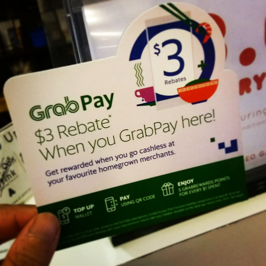New Payment mode added! We accept GrabPay now!