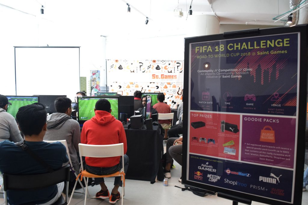 FIFA 18 Competition @ Saint Games