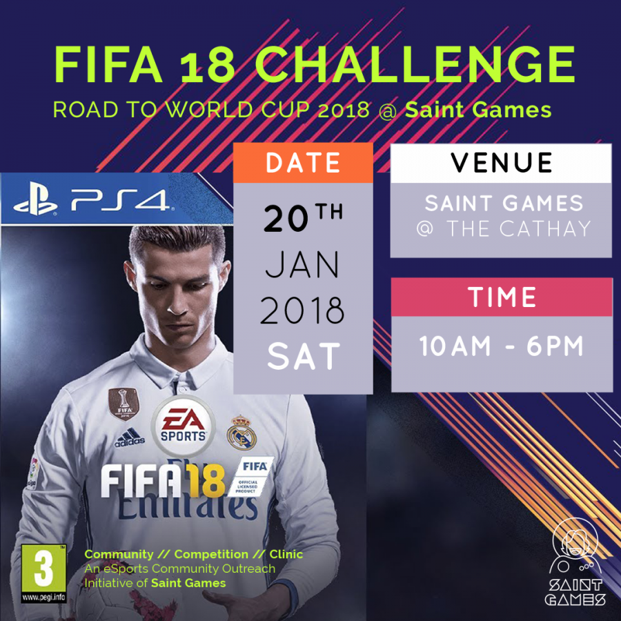 FIFA 18 Challenge (Road to World Cup 2018) @ Saint Games