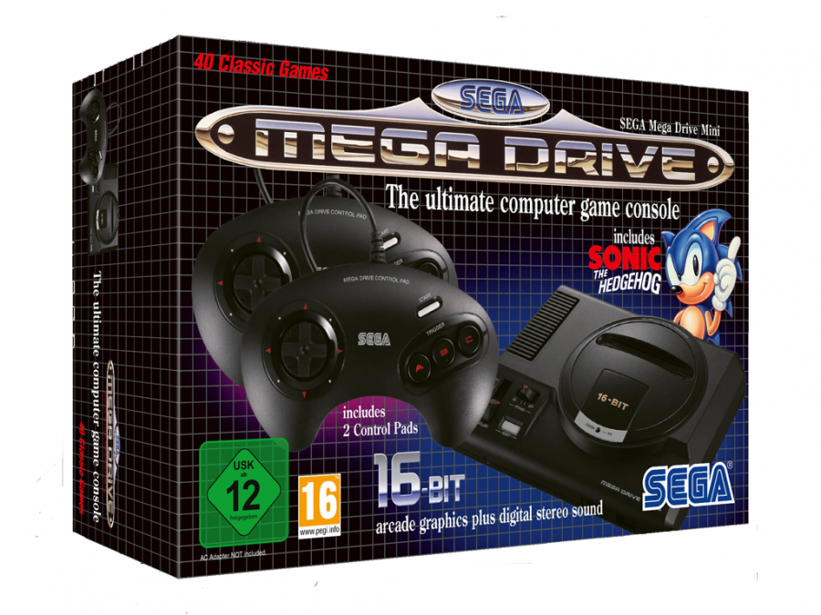 Sega joins in the fun with the Mega Drive Mini this September